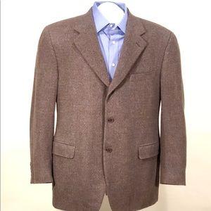 CANALI Men's Blazer 46R 100% Cashmere - Italy
